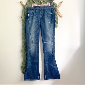 7 For All Mankind Kaylie Bootcut Jeans Long